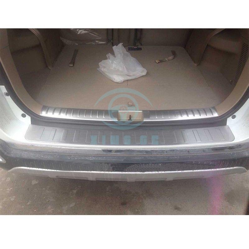 Aço inoxidável para Toyota Highlander 2009 2011 traseiro bar porta placa do peitoril da guarnição - 2