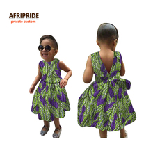 2017african dress for women african clothes new pattern fabrics kids high quality cotton plus sizeA724503