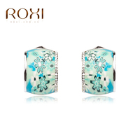 ROXI TOP Quality Wholesale Baby Girl Children Jewelry Charm Fimo Polymer Clay Mixed Earrings