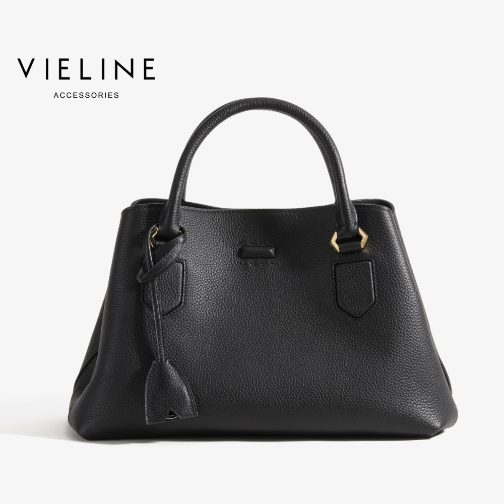 vieline genuine leather shoulder bag ,Independent designer brand real leather women tote Bags, free shipping best quality 2018 new gate shoulder bag women saddle bag genuine leather bags for women free shipping dhl