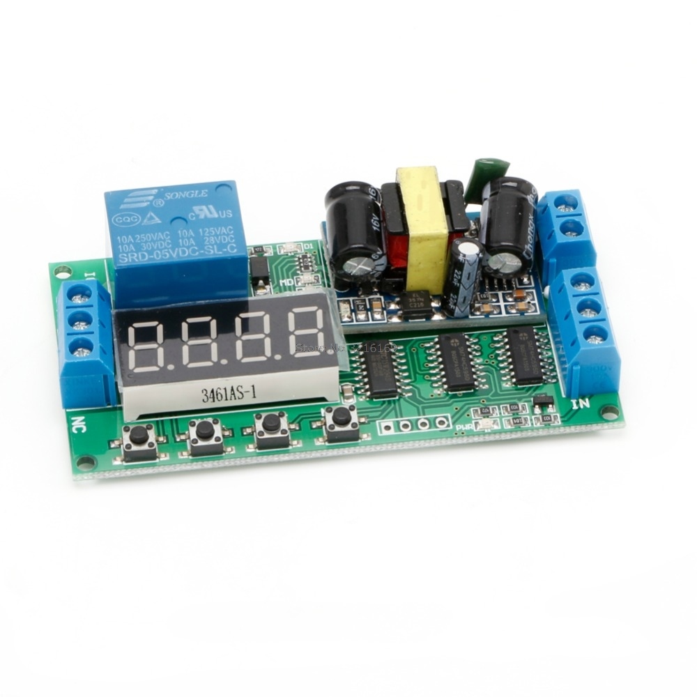 For AC 110V 220V Multifunction Self-lock Relay PLC Cycle Timer Module Delay Switch Promotion 6es7284 3bd23 0xb0 em 284 3bd23 0xb0 cpu284 3r ac dc rly compatible simatic s7 200 plc module fast shipping