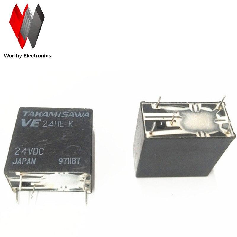 wholesale 10pcs lot relay VE24HE K