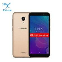 """Meizu c9 pro smartphone original, 3gb de ram, 32gb de rom, versão global, quad core, tela hd de 5.45 """", câmera de 13mp bateria traseira 3000mah desbloqueio facial"""