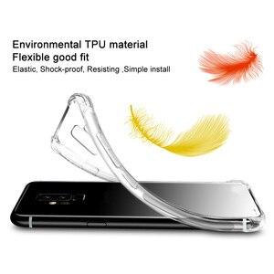 Image 4 - IMAK s Razer Phone2 케이스 커버 용 충격 방지 실리콘 소프트 투명 TPU 케이스, Razer Phone 2 용 스크린 보호기 포함