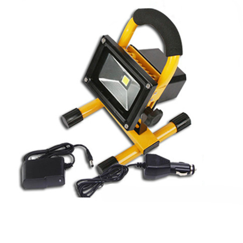 Portable powerful led floodlight 10w Emergency rechargeable flood light for outdoor Traveling Camping Fishing traveling light poems