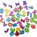 1 Компл. Образовательных Алфавита, Цифры Цифровой Магнитный Детские Дети Раннего Обучения Холодильник Головоломки Игрушки для Детей Игры, Подарки