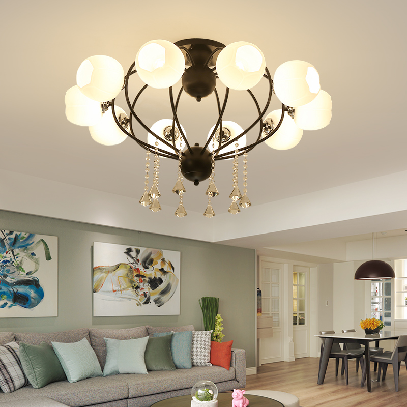 Nordic postmodern personality creative living room art fashionable bedroom restaurant contracted ceiling Light 2235 nordic contemporary and contracted sitting room bedroom art creative personality restaurant lighting wholesale rural birds lamps