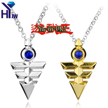 HEYu Anime Jewelry Yugioh Pyramid Egyptian Millennium Eye Of Horus Yu-Gi-Oh Necklace Zexal Yuma Cosplay Link Chain Necklace