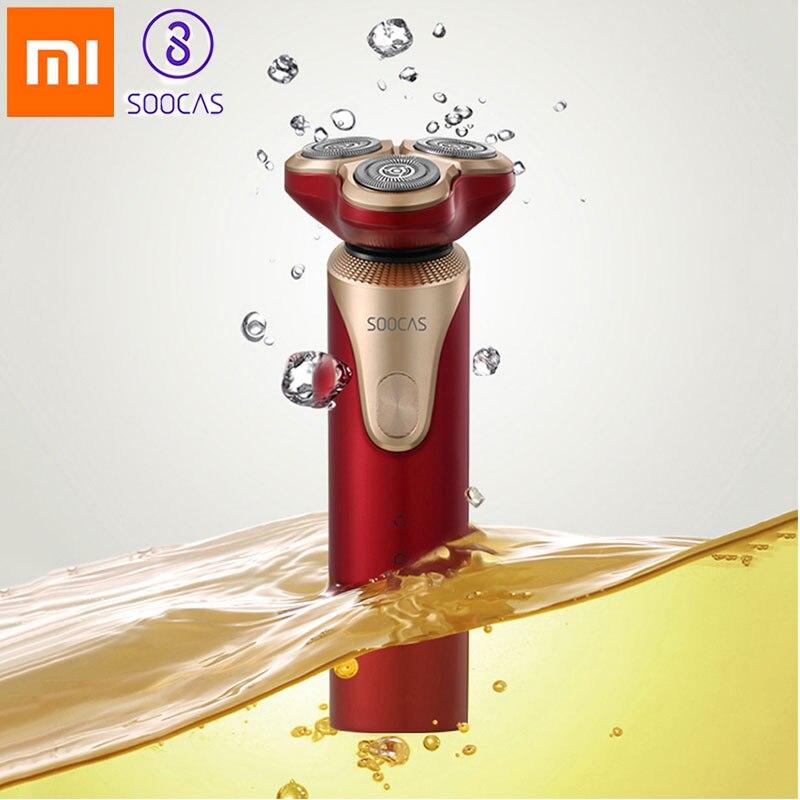 Xiaomi SOOCAS S3 rasoir électrique pour hommes Mijia USB rechargeable tondeuse à barbe rasoir rasoir de Youpin
