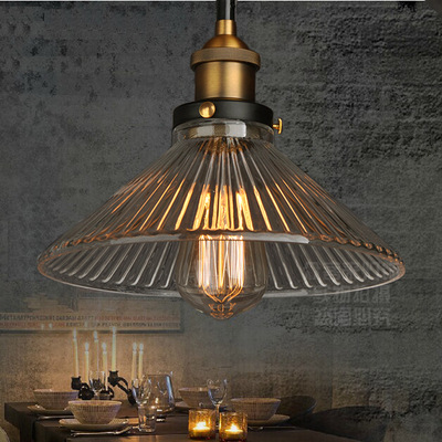 E27 Industrial Pendant Light Vintage Pendant LightS Hanging Lamp Bar Cafe Lamps Fixtures Edison Bulb Glass Metal Designer Lamps northern europe glass cage pendant light loft vintage birdcage pendant lights lamp metal glass hanging lamps for coffee shop bar
