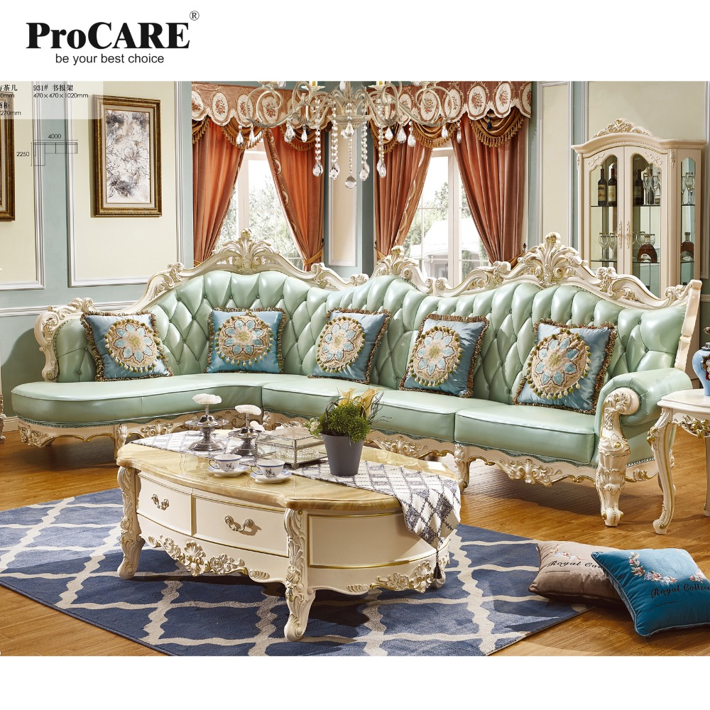 Luxury European And American Style Living Room Furniture