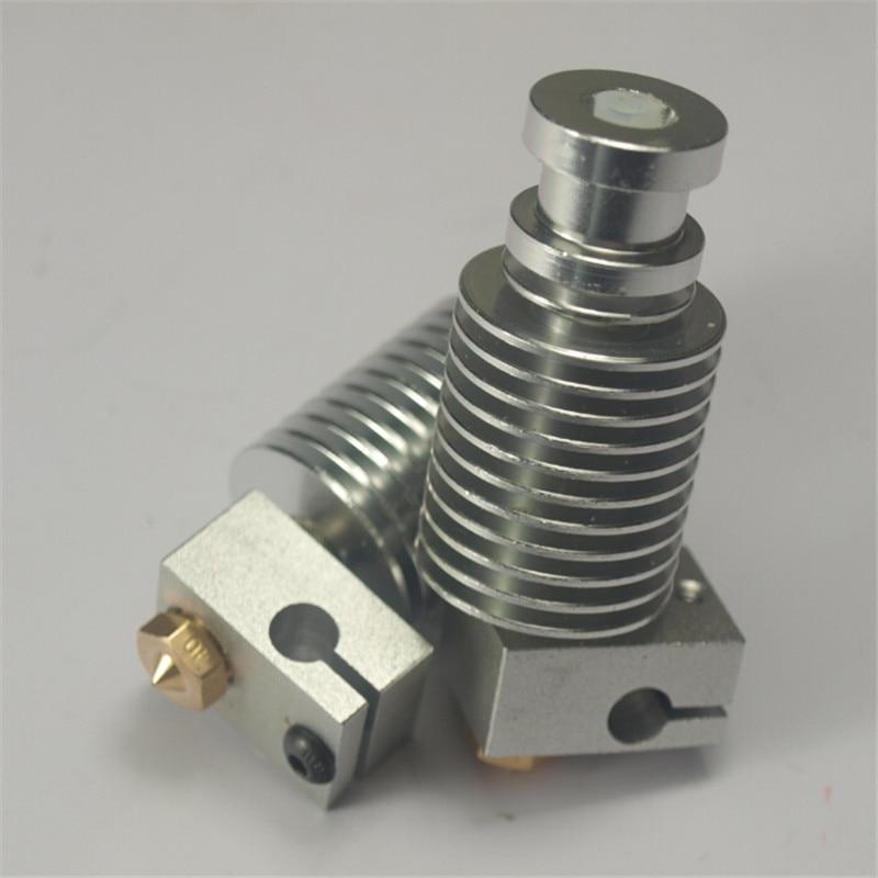 Funssor Reprap 3 D printer 3 mm filament V6 all-metal PTFE lined direct hotend kit