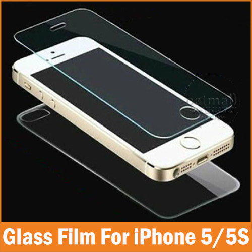 2PC=1Front 1Back Tempered Glass Film For Apple iPhone 5 5S 4 4S Glass Screen Protector Full Body Saver For iPhone 5S SE 9H