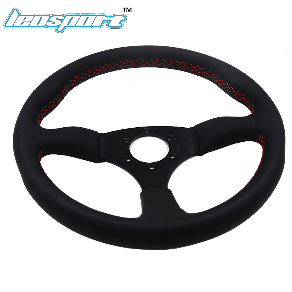 China leather racing steering wheel Suppliers