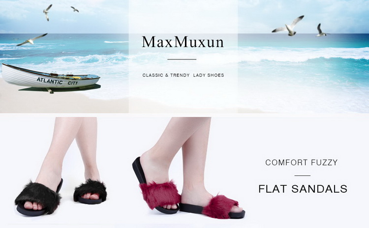 Maxmuxun Sexy Ladies Flat Sandals Flower Ruffles Shoes Women Slippers  Wedges Sandal Elegant Vacation Female Footwear Size 37-42USD 39.99 pair baffffb971a4