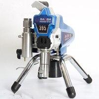 2018 High Pressure New Airless Spraying Machine Professional Airless Spray Gun Airless Paint Sprayer 395 Painting