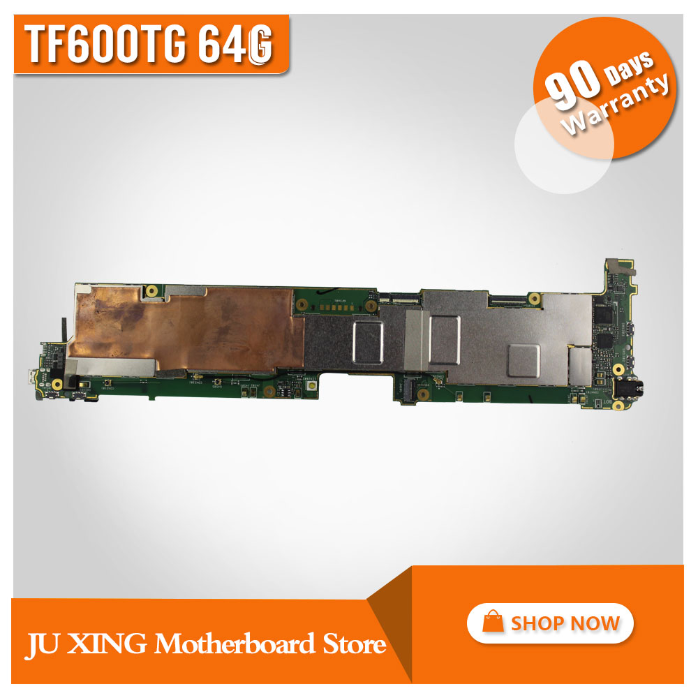 For Asus VIVOTAB RT TF600T TF600TG 64GB Mainboard TF600TG tablet motherboard Work Well asus rt ac87u