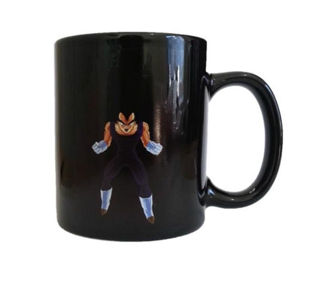 Dragon Ball Z Coffee Mug Goku Vegeta Heat Reactive