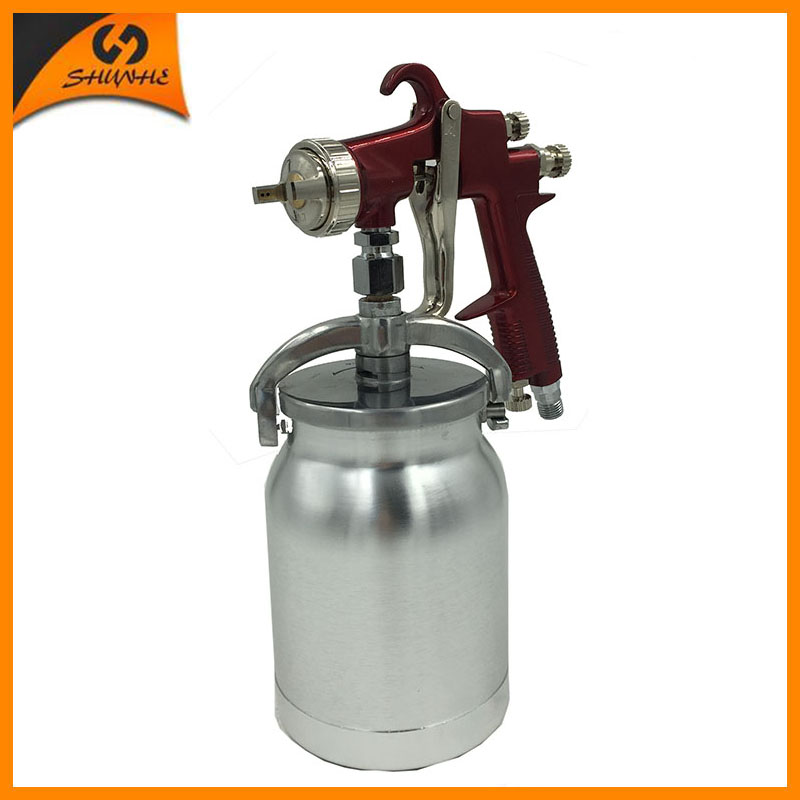 цена на SAT1179 high quality spray gun automatic spray gun 1.7 pneumatic spray guns professional air spray paint gun airbrush sprayer