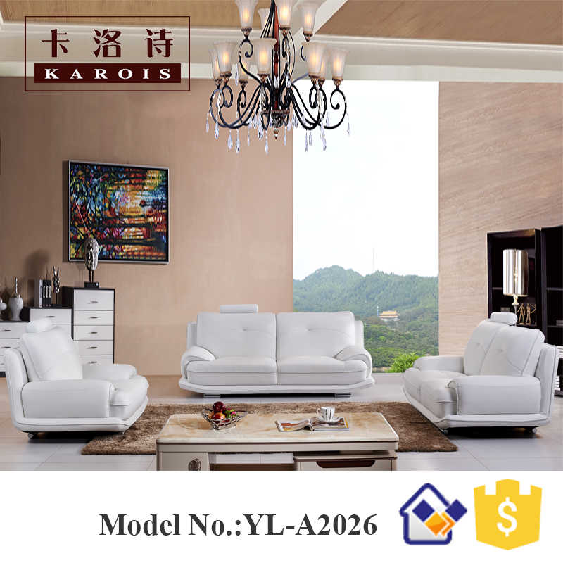 Italian Leather 321 Modern Leather Sofa sectional from Chinese Sofa  Manufacturer