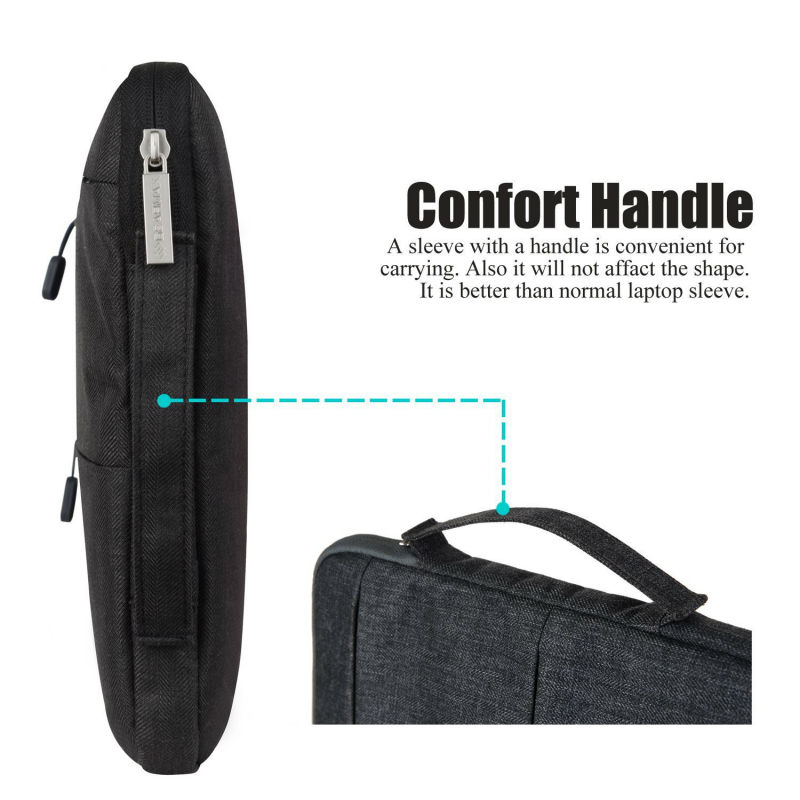 2019 New Arrival Laptop Sleeve 13 Free Keyboard Cover for MacBook Handle Laptop Bag for iPad Pro 12 9 Inch Notebook Bags 15 6 in Laptop Bags Cases from Computer Office
