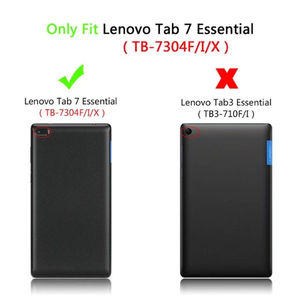"""Чехол для Lenovo Tab 7 TAB7 Essential TB-7304X TB-7304F Защитная искусственная кожа Tab4 Tab 4 ТБ-7304 7 """"Чехлы для планшетов"""