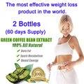 2 garrafas, sido extratos dieta de perda de peso de café verde Puro mulheres emagrecimento queimar gordura 100% eficaz da perda de peso rápida