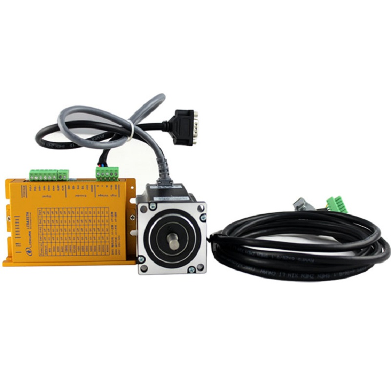 NEMA23 3N.m 3phase easy servo Closed loop stepper motor drive kit CNC DC20-50V LCDA357H+LC57H3100 100w new leadshine closed loop system a servo drive hbs507 and 3 phase servo motor 573hbm10 1000 with a cable a set cnc part