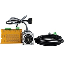 цена на CNC 3Nm 57mm NEMA23 Hybrid servo Closed loop stepping motor drive kit 3phase DC20-50V