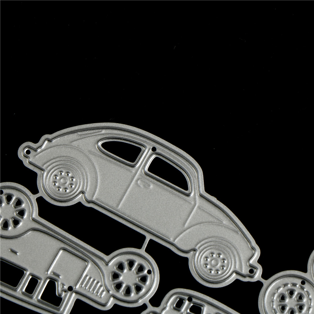 4pcs Classic Cars Metal Cutting Dies For DIY Scrapbooking Album Paper CardsZP