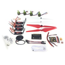 GPS APM2.8 Flight Control EMAX 20A ESC GARTT 920KV 230W Brushless Motor 9443 Propeller for 4-axis DIY GPS Drone