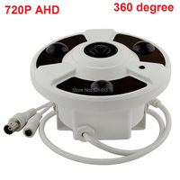 CCTV Indoor Home Security Analog HD Surveillance Panoramic 360 Degree View Camera 1 0MP 720P Dome