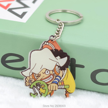 One Piece Characters Shaped Key Chains