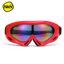 Shipping Free children kid  brand snow snowboard goggles adultbrand ski goggles anti-fog big ski mask glasses skiing