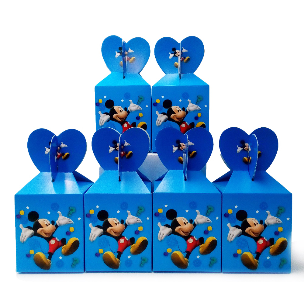 Mickey Mouse Candy Box Mickey Mouse Theme Kids Happy Birthday Party Decoration  Party Favors Kids Birthday Party Supplies