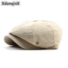 Unisex Adult Men s hat Autumn Winter Retro Cotton Berets Adjustable Head  Size Dad s Duck Tongue Forward Hats Fashion Couple Hat 8eeef9d79e65