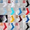 Novos homens de Alta qualidade meias Dos Desenhos Animados Profissional N ° 23 elite terry meias grossas meias de algodão do sexo masculino
