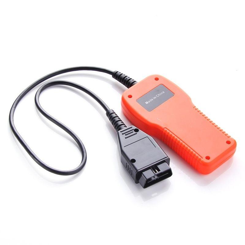 Автомобиль диагностический сканер инструмент автомобилей Код ошибки чтения точной двигателя Код ошибки чтения автомобиля Reader OBD2 U480 прочный черный