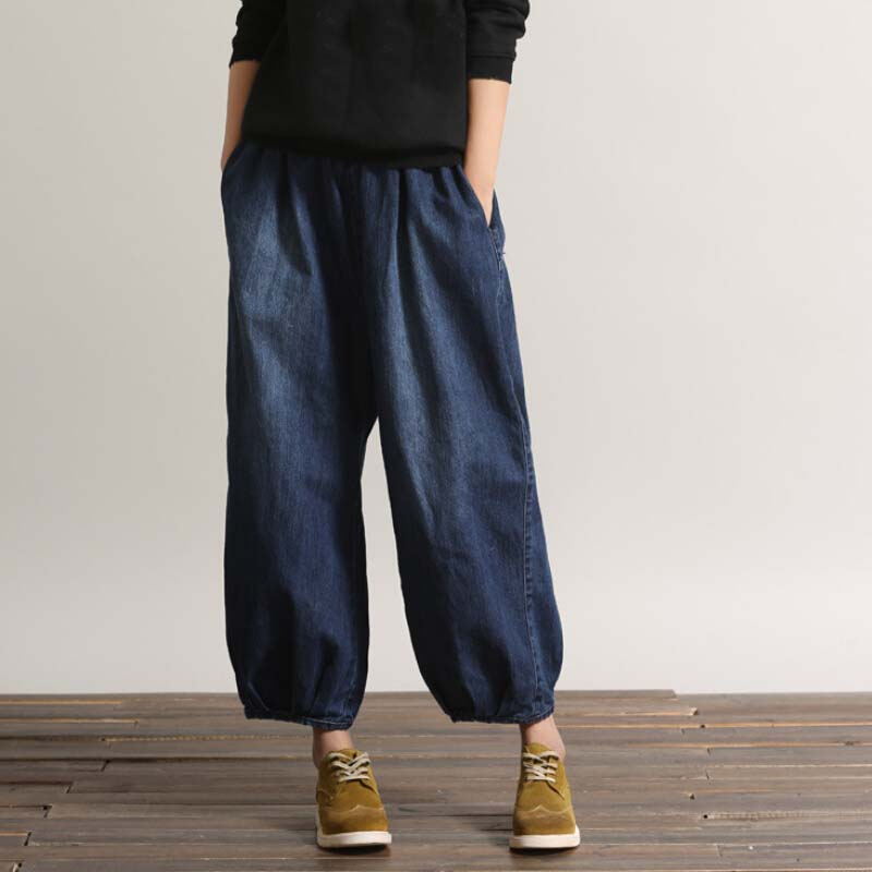 Online Get Cheap Blue Jean Wide Leg Capris -Aliexpress.com ...