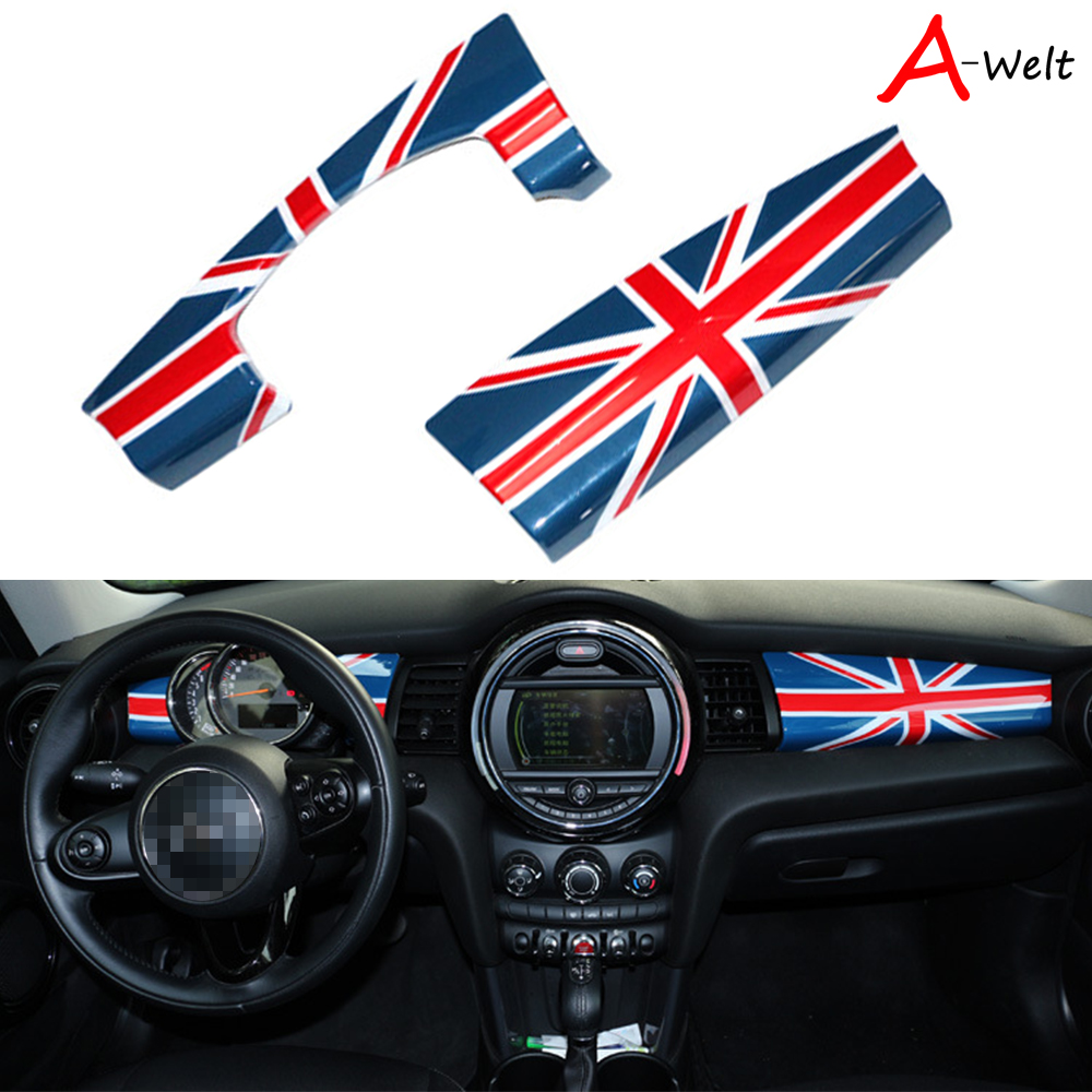 Union Jack Tachometer Decor Trim Cover For Mini Cooper Carbrio Roadster R57 R59
