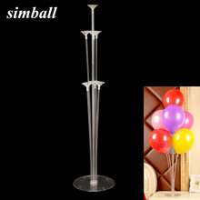 Balloon Stick DIY Wedding Decoration Latex Balloons Birthday Party Supplies Table Floating Balloon Supporting Rod Balloon Holder(China)