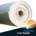 "1 Roll 8sqm Car Automotive Heat Sound Shield Insulation Proofing Material Mat Aluminum Foil Pad Deadening Deadener 320"" x 40"""