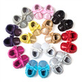 New PU Leather sequins Baby glitter Moccasins shoes Bling Bling fringe bow Moccs soft sole butterfly-knot  Newborn firstwalkers