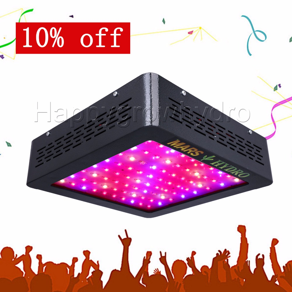 все цены на  Mars Hydro Mars II 400w LED Grow Light Lamp Full Spectrum Panel Veg Flower for Medical Indoor Plant  онлайн