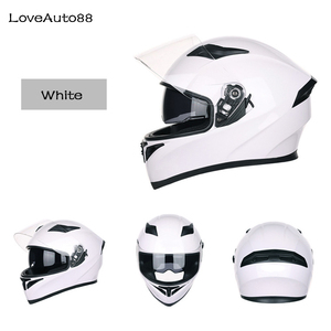 Image 3 - Full Face Professional Motorcycle Helmet Racing helmet Modular Dual lens Motorcycle Helmet for Women/Men Safe helmets