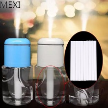 MEXI 10Pcs/Bag Cotton Humidifiers Replacement Filter For USB Air Aroma Diffuser Parts Can Be Cut
