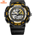 HOSKA Brand Sport Children Digital Watch for Boys G Style High Quality Shock Waterproof Rubber Plastic Band Digital-watch HD030B