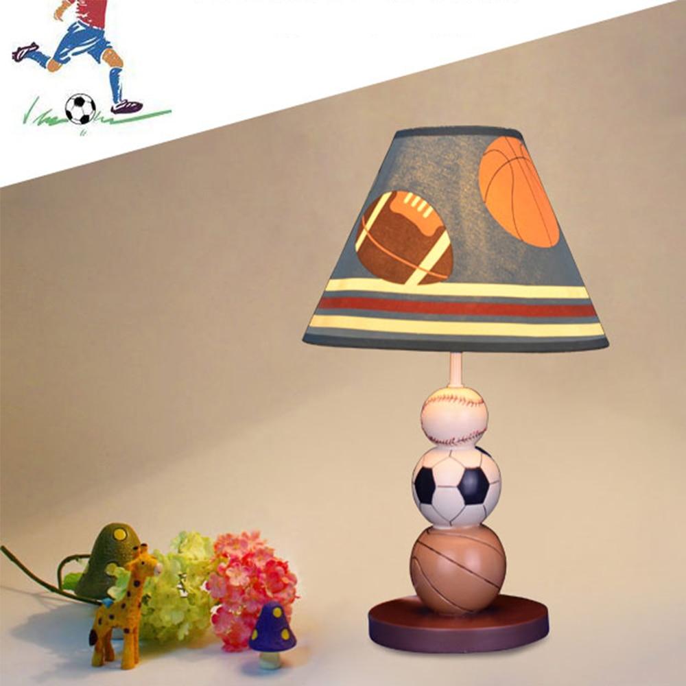 HGhomeart Boy Bedroom Resin Lamp Desk Luminarias E27 110V-220V Dimmable Led Desk Lamp Reading Bed Light Table Lamps Bedside Lamp