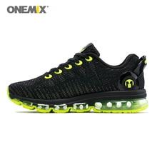 Onemix men's running shoes 2017 women sneakers lightweight colorful reflective mesh vamp for outdoor sports jogging walking shoe