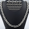 Davieslee 2.5/3/4/6/10mm 18-36inch Stainless Steel Chain Silver Color Mens Boys Rolo Chain Necklace Fashion Jewelry DLKNM78